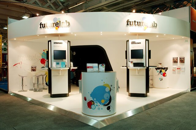 Small Exhibition Stand Goal : Exhibitions exhibition stand design full circle