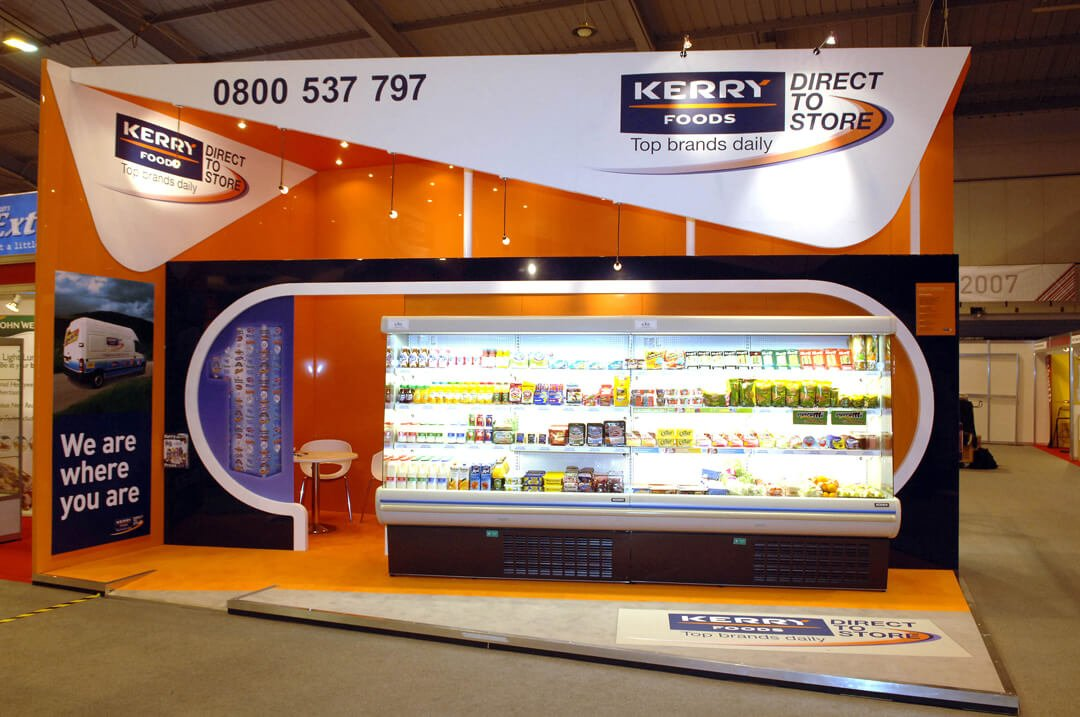 Exhibition Stand Circle : Kerry foods full circle exhibition design