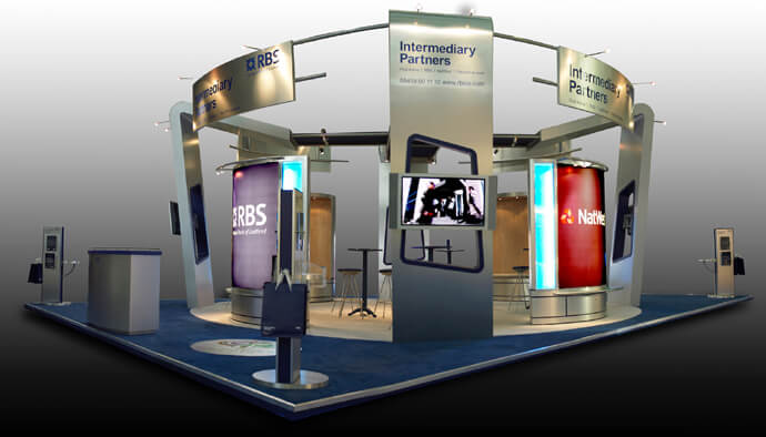 Exhibition Stand Circle : Exhibitions exhibition stand design full circle exhibition design