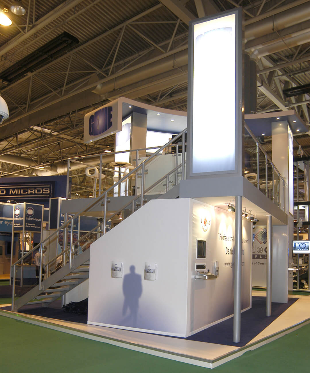 Case Study Large - Genie CCTV Exhibition Stand